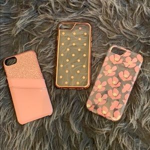 Lot of 3 IPhone 6/6s cases